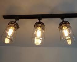 Vintage Lighting Fixture A Jar Track Light Of 3 Vintage Quarts The L Goods