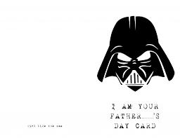 star wars father u0027s day card like the sea