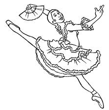 professional ballerina coloring color luna