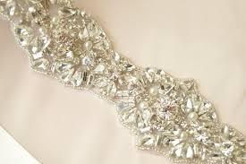 bridal sash bridal sash pearl bridal bridal accessories