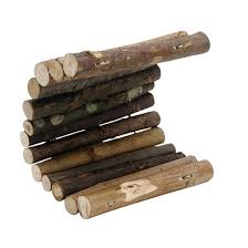 living world treehouse real wood logs small buy at homesalive ca