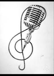 how to draw microphone retro tattoo google zoeken how to u0027s