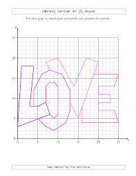 coordinate grid activities integer math worksheets