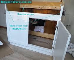 How To Assemble Ikea Kitchen Cabinets Ikea Kitchen Sink Cabinet Installation Kitchen Cabinet Ideas