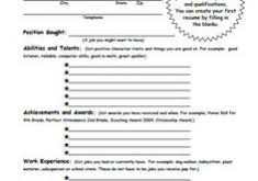 My First Resume Template Resume Template Psd Haadyaooverbayresort Com