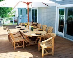furniture amazing teak outdoor dining table decor ideas amazing