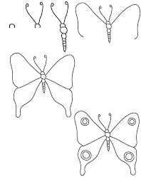 25 best ideas about how to draw butterfly on easy