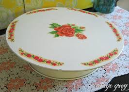 celebrate plate vintage grey vintage musical plate