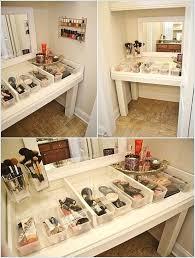 Diy Vanity Table Extraordinary Images Diy Vanities Ideas Cool Diy Makeup Vanity