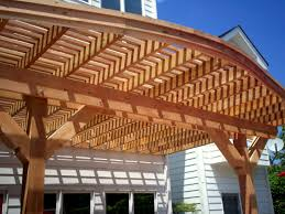 Pergola And Decking Designs by Deck Designs With Curves St Louis Decks Screened Porches