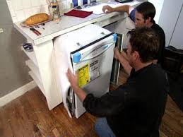 Install A Dishwasher In An Existing Kitchen Cabinet How To Remove And Replace A Dishwasher How Tos Diy