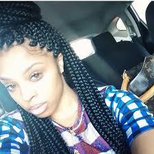 medium box braids with color tumblr block braids for black women african kinky twist braid hairstyles