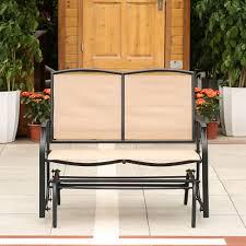 chair durable glider bench for outdoor u2014 rockinhranchvineyard com