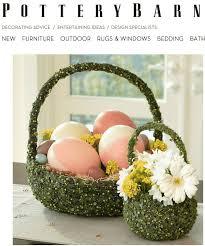Pottery Barn Easter Eggs Green Vine Easter Basket Pb Knock Off Sprinkle Some Fun