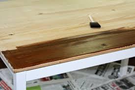 Ingo Ikea Hack by Greener Grass Handmade Blog Craft Table Makeover