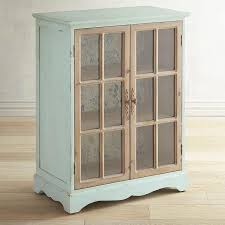 wood and glass cabinet 2 door blue wood glass cabinet