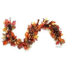 new 72 autumn splendor garland fall harvest thanksgiving in