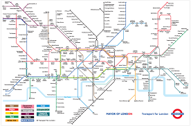 Metro Madrid Map by Chelsea Mapping The World