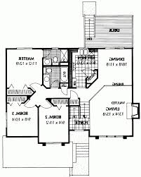 split floor plan house plans home design modified bi level house plans edesignsplansca 1