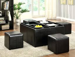ottoman with tray and storage u2013 robys co