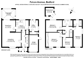 Millennium Falcon Floor Plan by 4 Bed Detached House For Sale In Falcon Avenue Bedford Mk41