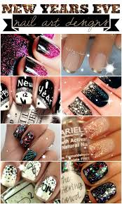Nail Art Designs For New Years Eve Year U0027s Eve Nail Art Designs