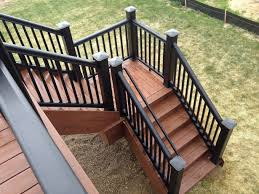 deck steps design deck stairs with landing porch design ideas for