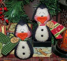 Felt Penguin Christmas Ornament Patterns - 130 best penguin ornaments images on pinterest christmas crafts