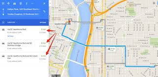 Map My Route Driving by How To Get Driving Directions And More From Google Maps