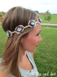 boho headband the blue eyed dove diy boho chic headband the blue eyed dove