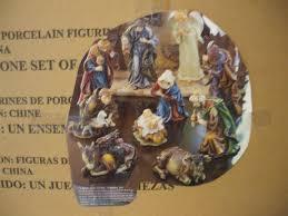 homco celebrating home interior 11 piece christ our savior