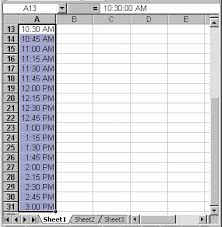 excel templates daily planner creating a class schedule using excel