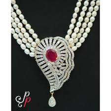 pearls necklace sets images Pearl necklace sets 4 line grand pearl necklace set in stylish jpg