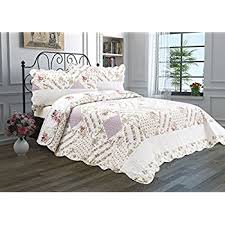 Difference Between Coverlet And Quilt Amazon Com Printed Quilt Coverlet Set King 106