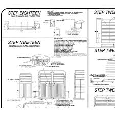 Blueprints by 6 U0027 X 24 U0027 Livestock Trailer Plans Blueprints Model 3224 16 000