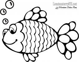rainbow fish coloring pages bebo pandco fish color sheets