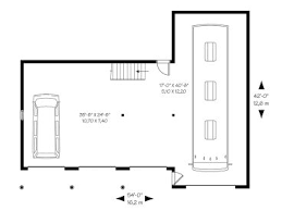 Rv Garage Floor Plans Rv Garage Plans Rv Garage Plan With Attached 3 Car Garage 028g