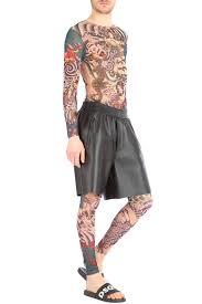 dsquared tattoo mesh t shirt g u0026b negozionline