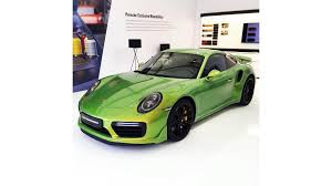 porsche 911 turbo s python green chromaflair motor1 com photos