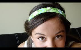 beaded headband diy beaded headband
