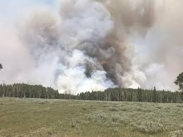 Wild Fire Brian Head Utah by Brian Head Fire Increases Entering Panguitch City U0027s Watershed