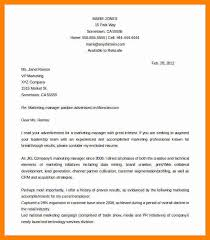 cover letter marketing manager manager sample cover letter