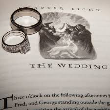 Harry Potter Wedding Rings by On Themed Weddings Simple Elegance By Laura