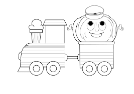 download train engine coloring page ziho coloring