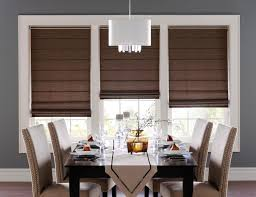 Dark Brown Roman Blinds Blinds Design Outlandcigars Com