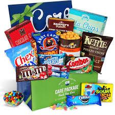 international gift baskets international junk food care package by gourmetgiftbaskets