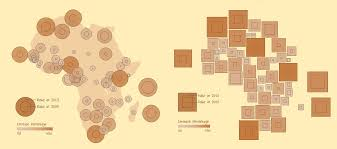 Cartogram Map Demers Cartograms And Other Maps Of Africa Ken Flerlage