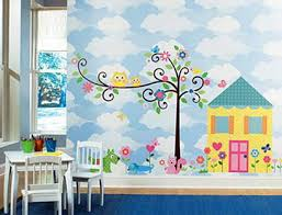 Delighful Kids Bedroom Murals Wow Wall E To Design Decorating - Kids rooms murals