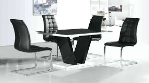 glass top dining table set 4 chairs glass top table and 4 chairs black glass high gloss dining table and