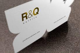 custom die cut business card printing 4over4
